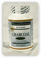 Activated Charcoal Capsules - 125 Capsules